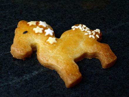 Biscuit cheval au sésame