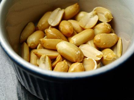 Cacahuètes natures