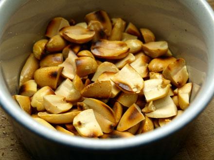 Cacahuètes torréfiées