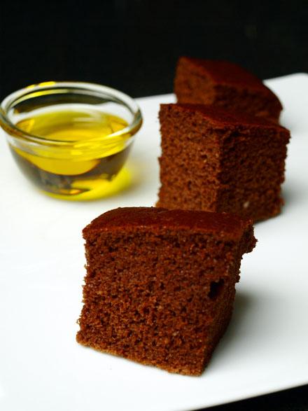 Gâteau au chocolat à l'huile d'olive