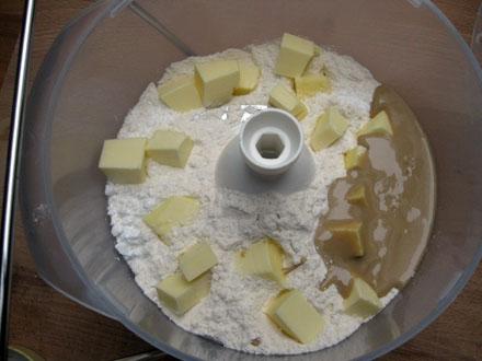 Ingrédients des biscuits au sésame