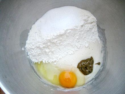 Ingrédients de la couronne briochée