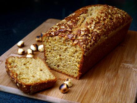 Cake noisette & chicorée