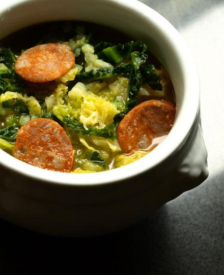 Caldo verde, soupe au chou portugaise