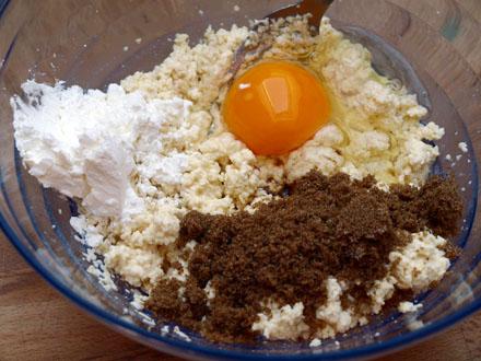 Ingrédients pancakes aux flocons de millet