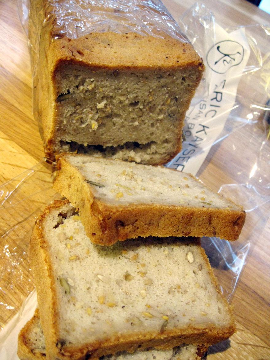 Pain aux céréales sans gluten de la Maison Kayser