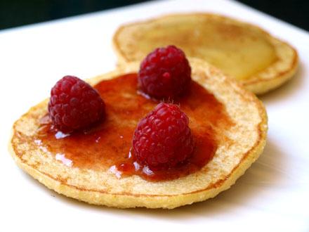 Pancake aux flocons de millet