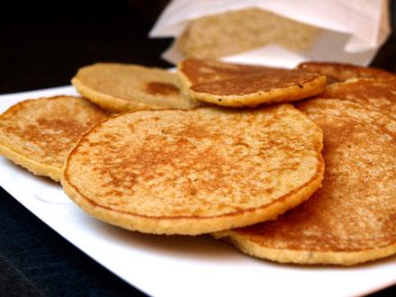Pancakes aux flocons de millet