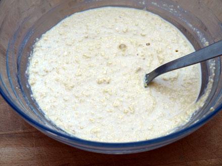 Pâte à pancakes au flocons de millet