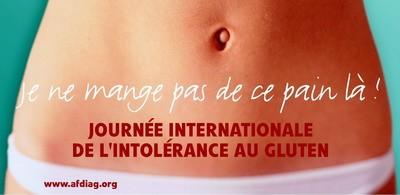 Affiche journée internationale sans gluten