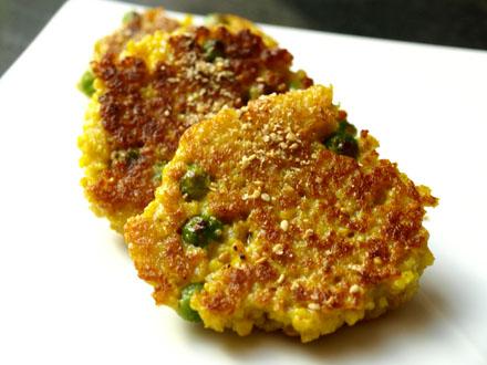 croquettes multicolour millet croquettes broccoli millet croquettes ...