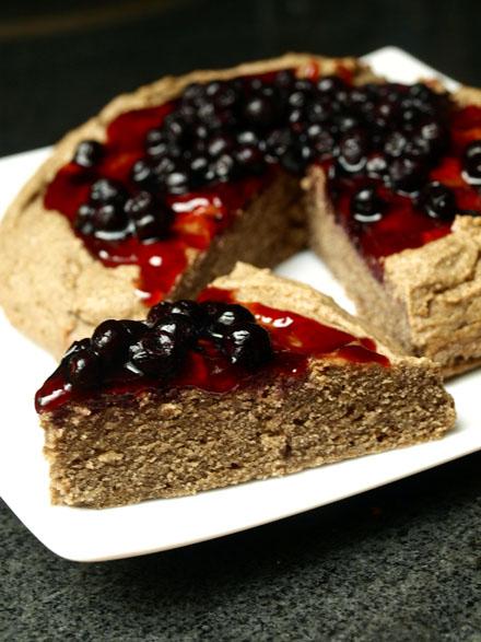 Gâteau à la farine de sarrasin