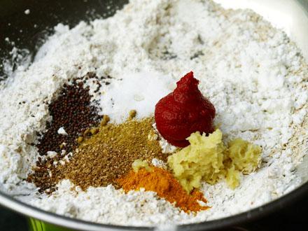 Mélange aromatique pour steak veggie à l'indienne
