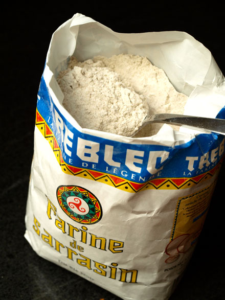 paquet de farine de sarrasin