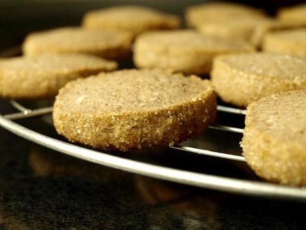 Sablés à la farine de sarrasin