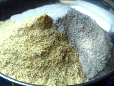 Mélanges de farines sans gluten
