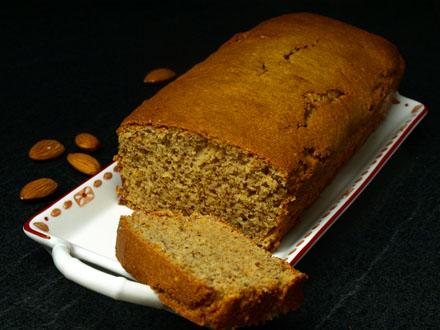 Cake sans gluten à l'amande