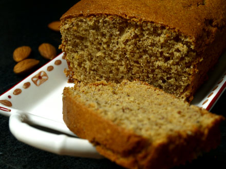 Cake à l'amande sans gluten