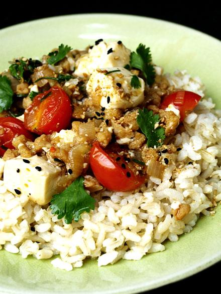 Mapo Tofu végétarien