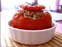 Tomates farcies végétariennes aux 5 céréales