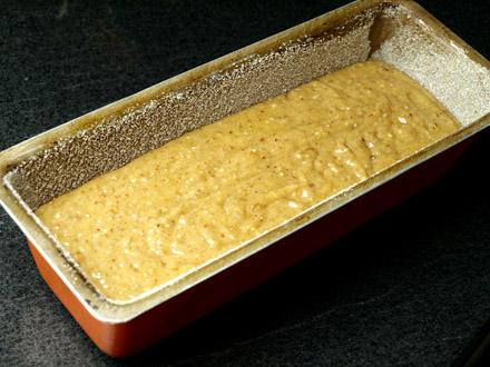 Cake banane, amande, cannelle