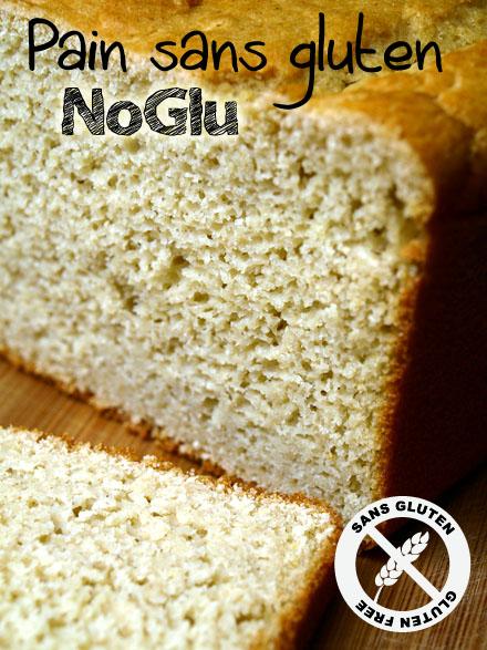 Pain sans gluten NoGlu