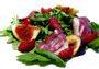 Recette salade roquette magret de canard fume, framboise et figue