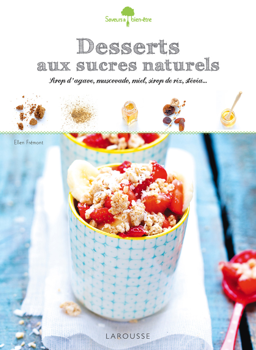 Couverture livre Desserts au sucre naturel