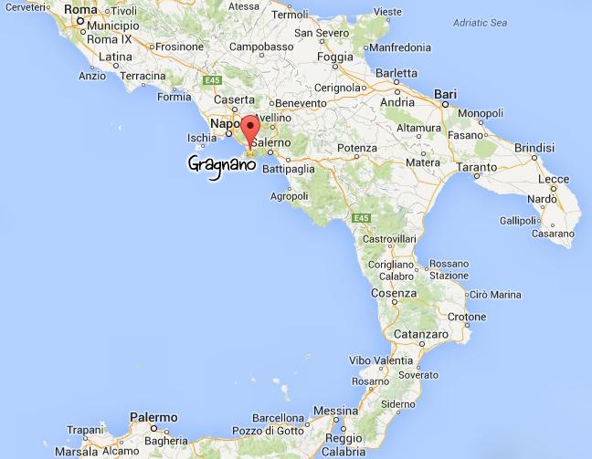 Situation de Gragnano