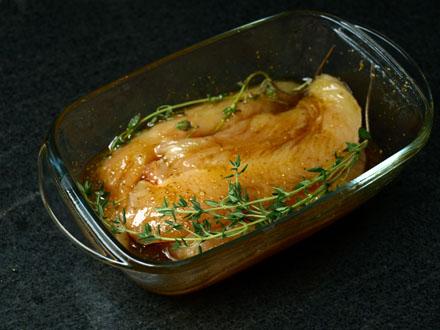Marinade du poulet