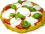 Recette pizza margherita sans gluten à la polenta