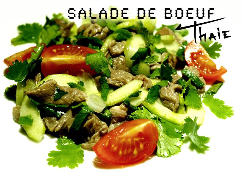 Salade de boeuf thaïe au citron vert - Lap laotien