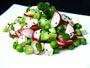 Recette salade de petits pois frais aux radis et à la menthe