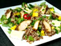 Recette salade de quinoa au poulet et à la mangue