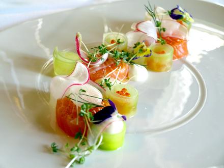 Assiette préparée par le chef  finlandais Matti Jamsen © Cookismo