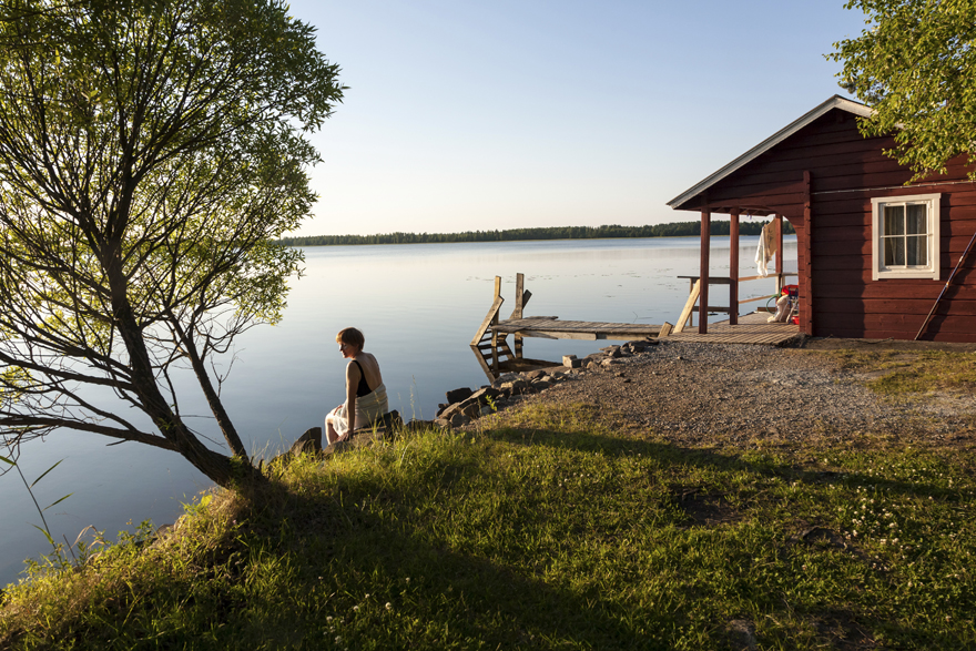 Cottage en bord de lac © Visit Finland