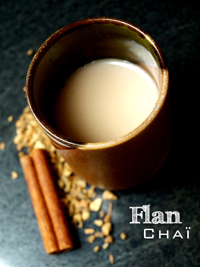 Flan chaï (sans œuf)