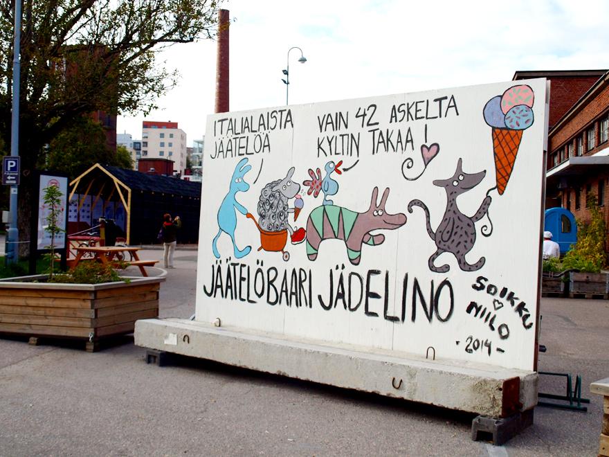 Glacier Jädelino - Teurastamo