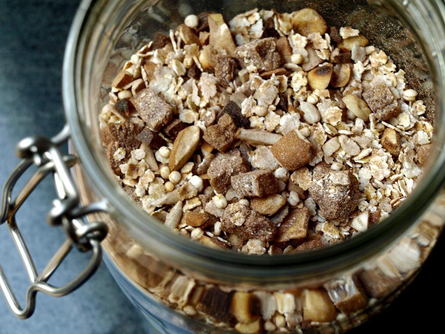 Muesli choco-noisette sans gluten