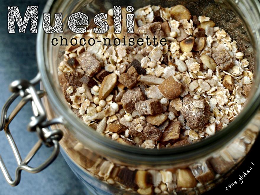 Muesli choco-noisette aux flocons de sarrasin