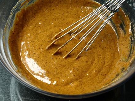Pâte à muffin à la courge et à la cannelle (sans gluten)