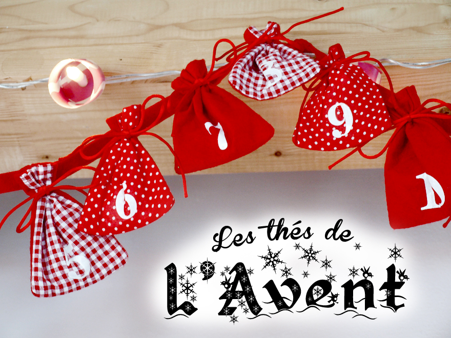 calendrier de l avent infuser diy cookismo. Black Bedroom Furniture Sets. Home Design Ideas