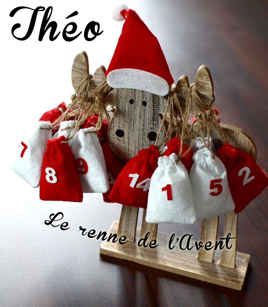 Théo, le renne calendrier de l'Avent