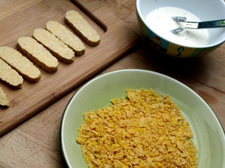 Ingredients nuggets de tempeh