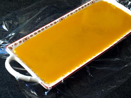 Gelée de mangue à l'agar-agar