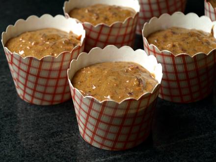 Muffins sans gluten à la carotte et à la cannelle
