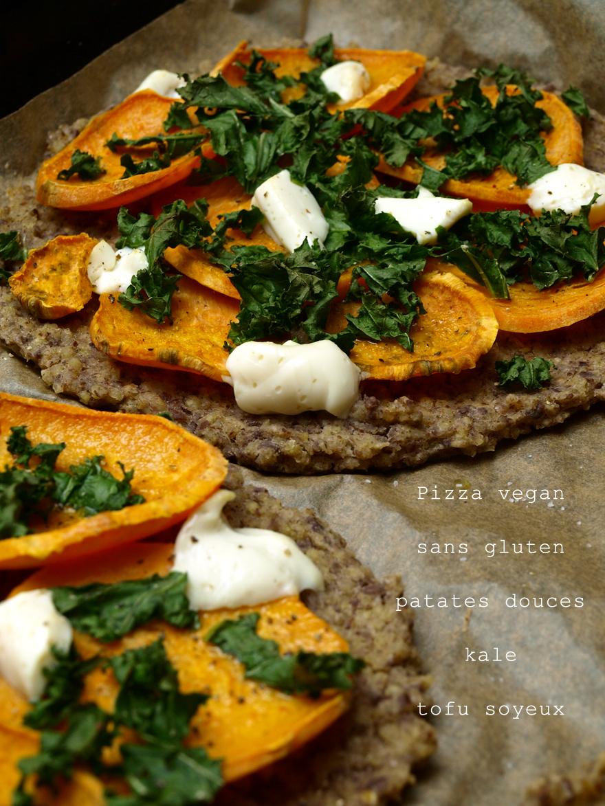 Pizza sans gluten et vegan d'Anya Kassoff