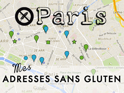 Adresses sans gluten Paris
