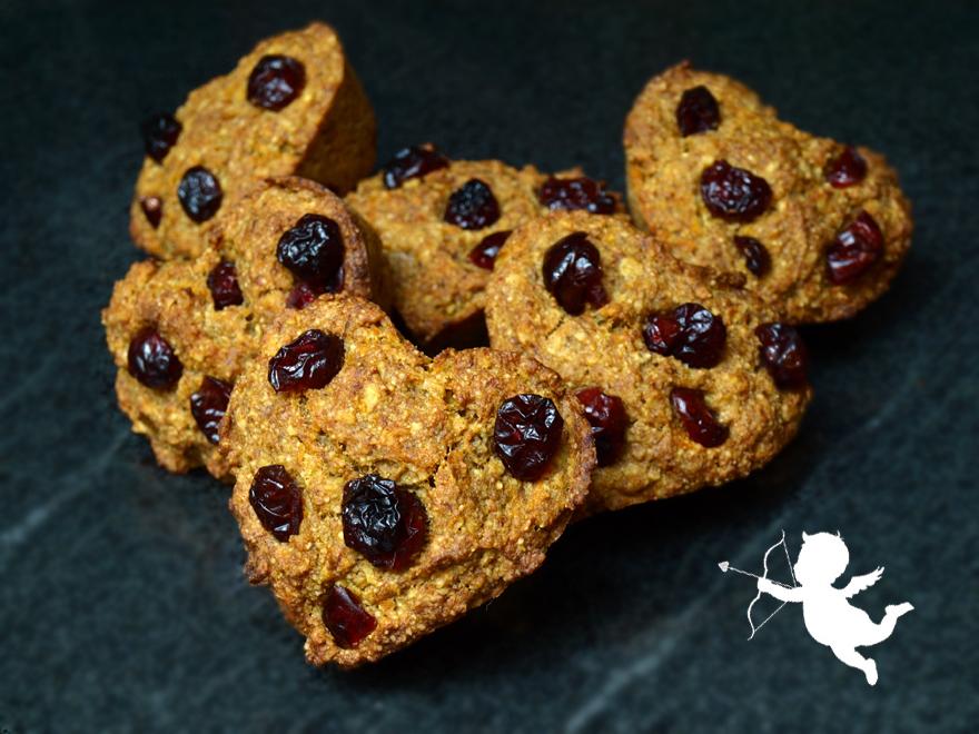 Muffins coeur carotte, orange et cannelle (sans gluten)