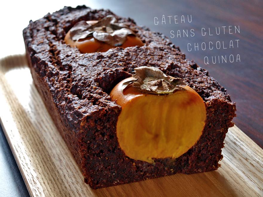 Gâteau au chocolat et flocons de quinoa (sans gluten)